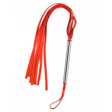 Sitabella Латексная плеть, красная С удобной петлей на ручке