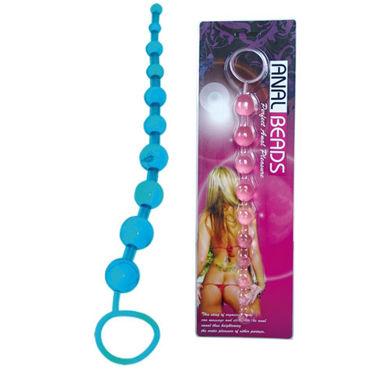 Baile Anal Beads, розовая Анальная цепочка