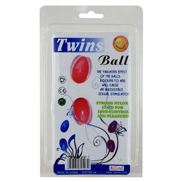 Baile Twins Ball, фиолетовые Анальные шарики