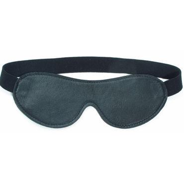 BDSM Арсенал маска на глаза, черная С эластичным ремешком