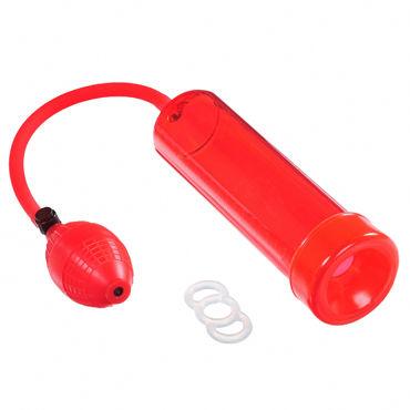 Lola Toys Discovery Racer, красная Мужская вакуумная помпа