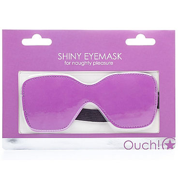 Ouch! Shiny Eyemask, фиолетовая Маска на глаза