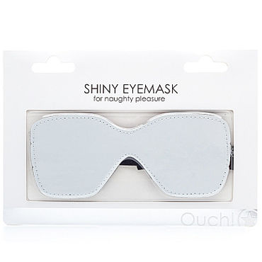 Ouch! Shiny Eyemask, белая Маска на глаза