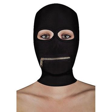 Ouch! Extreme Zipper Mask with Mouth Zipper БДСМ-маска с молнией в области рта