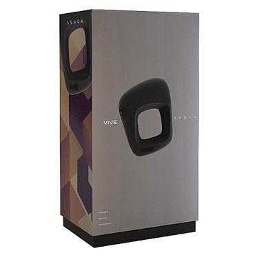 Shots Toys Vive Senca, черное Эрекционное виброкольцо