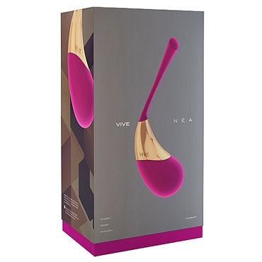 Shots Toys Vive Nea, розовое Виброяйцо с уникальным дизайном
