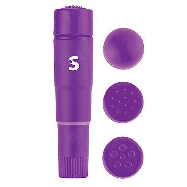 Shots Toys Fourplay, фиолетовый Вибратор с насадками