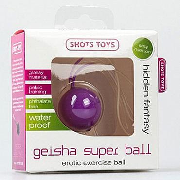 Shots Toys Geisha Super Ball, фиолетовый Вагинальный шарик