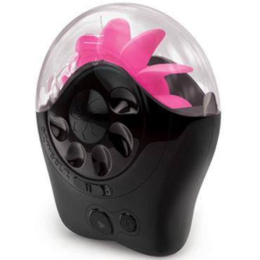Sqweel 2, черно-розовый Клиторальный стимулятор, имитирующий оральные ласки