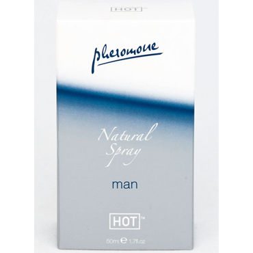 Hot Man Natural Spray, 50 мл Спрей для мужчин с феромонами