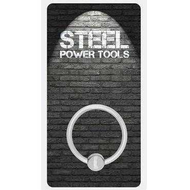 Steel Power Tools Acorn Ring, 30 мм Металлическое эрекционное кольцо