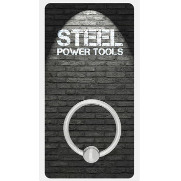 Steel Power Tools Acorn Ring, 32 мм Металлическое эрекционное кольцо