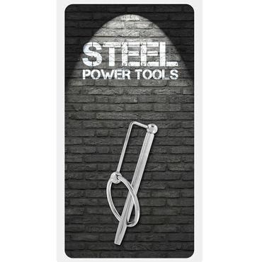 Steel Power Tools Long Princess Wand Эрекционное кольцо с катетером