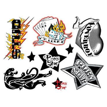 AdultBodyArt Get Naughty Party Набор из 40 временных татуировок