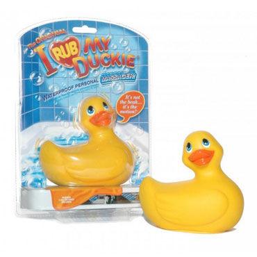 Bigteaze Toys I Rub My Duckie, желтый Вибратор в форме утенка
