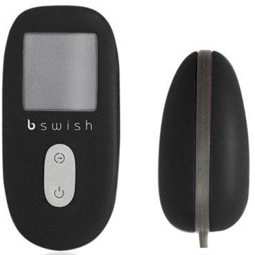 Bswish Unleashed, черное Виброяйцо с беспроводным пультом управления
