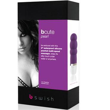 Bswish bCute Pearl, фиолетовый Минивибратор с рельефной поверхностью