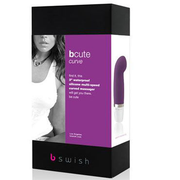 Bswish bCute Curve, фиолетовый Минивибратор для точки G