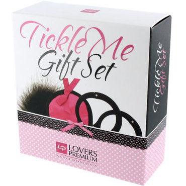 LoversPremium Tickle Me, розовый Подарочный набор для эротических игр