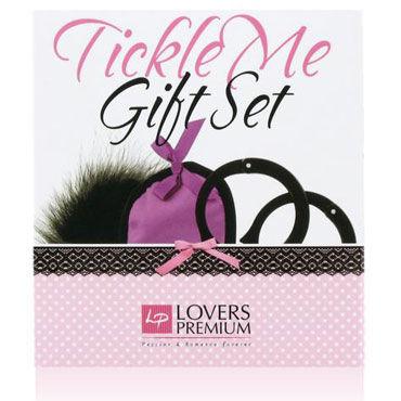 LoversPremium Tickle Me, фиолетовый Подарочный набор для эротических игр