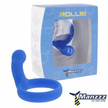 ManzzzToys Rollie, синее Эрекционное кольцо