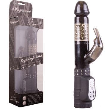 PlayHouse Hi-Tech Razzle Dazzle Rabbit, черный Многофункциональный вибратор