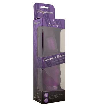 PlayHouse Perverssimo Partner, фиолетовый Вибратор реалистичной формы