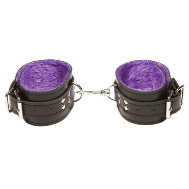 X-Play Pasison Fur Ankle Cuffs Кожанные поножи