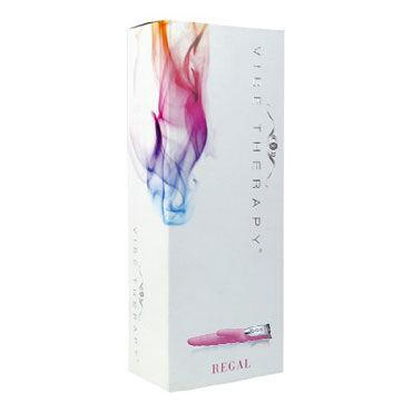 Vibe Therapy Regal, розовый Вибратор со стимуляцией клитора и точки G