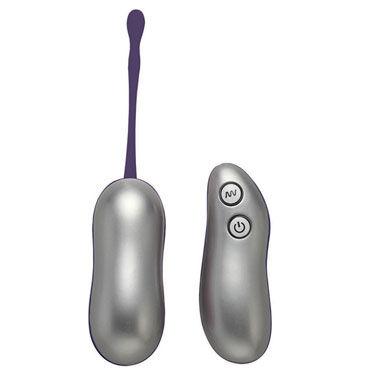 Vibe Therapy Reign, серебристо-фиолетовое Виброяйцо с беспроводным пультом управления