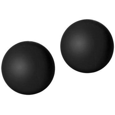 Doc Johnson Black Rose Ben Wa Balls, черные Вагинальные шарики