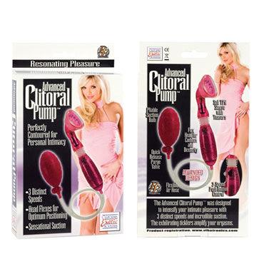 California Exotic Advanced Clitoral Pumps, розовый Вакуумная помпа для клитора