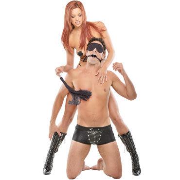 Pipedream Japanese Silk Rope Bondage Kit, черный Набор для BDSM