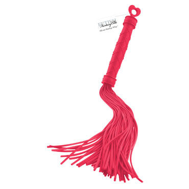 Pipedream Silicone Bondage Whip, красный Силиконовая плеть