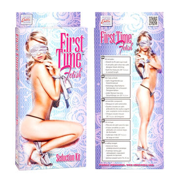 California Exotic First Time Fetish Seduction Kit Маска на глаза и ленты для фиксации