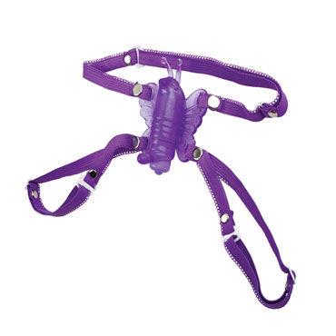 California Exotic Micro-Wireless Venus Butterfly, фиолетовая Беспроводная вибробабочка