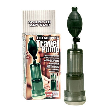 California Exotic Telescoping Travel Pump, ��������� ����� � ���������� ���������