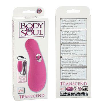 California Exotic Body Soul Transcend, розовый Вибромассажер и виброяйцо
