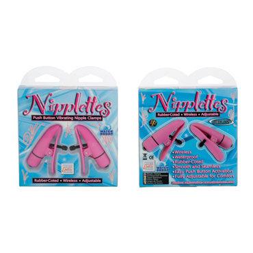 California Exotic Nipplettes Виброклипсы для груди