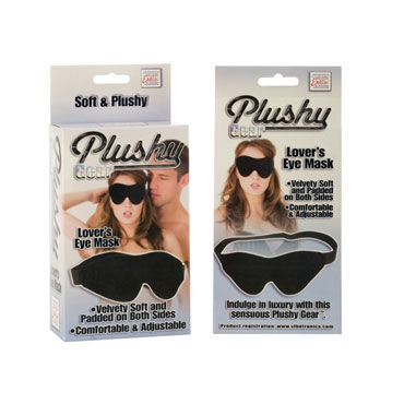 California Exotic Plushy Gear Eye Mask Эротическая маска на глаза