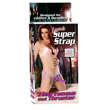 California Exotic Lovers Super Strap Harness and Thruster Женский страпон на ремне