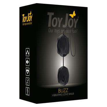 Toy Joy Buzz Vibro, черные Вибрирующие вагинальные шарики