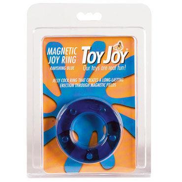 Toy Joy Magnetic Joy Ring, синее Эрекционное кольцо с магнитами