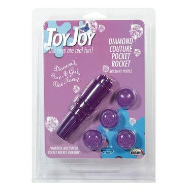 Toy Joy Diamond Pocket Rocket, фиолетовый Вибростимулятор