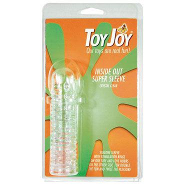 Toy Joy Inside Out Super Sleeve Насадка на пенис