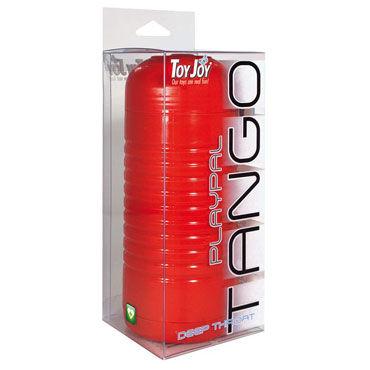 Toy Joy Playpal Tango Red Mouth Мастурбатор-ротик в колбе