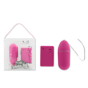 Toy Joy Funky Remote Egg, темно-розовое Виброяйцо на дистанционном управлении