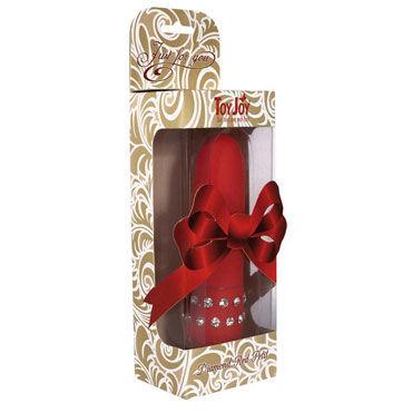 Toy Joy Diamond Red Petit мини вибратор, декорирован стразами