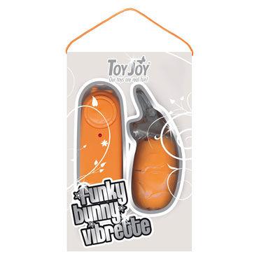 Toy Joy Funky Bunny Vibrette, оранжевый Виброяйцо в форме кролика
