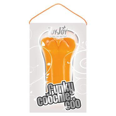 Toy Joy Funky Coochie Coo, оранжевый Компактный мастурбатор-вагина